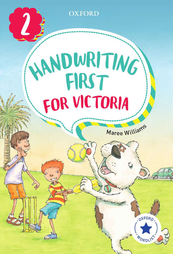 Handwriting First for Victoria Year 2 9780190312497