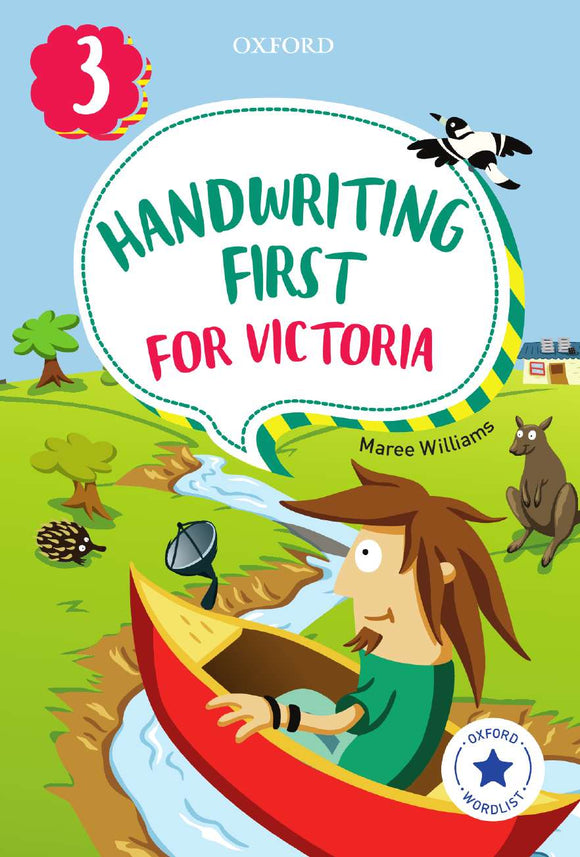 Handwriting First for Victoria Year 3 9780190312503