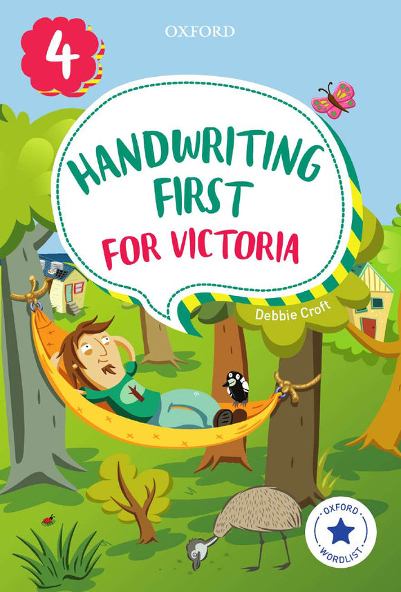 Handwriting First for Victoria Year 4 9780190312510