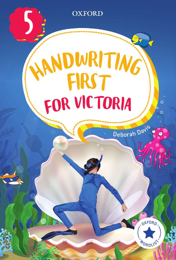 Handwriting First for Victoria Year 5 9780190312527