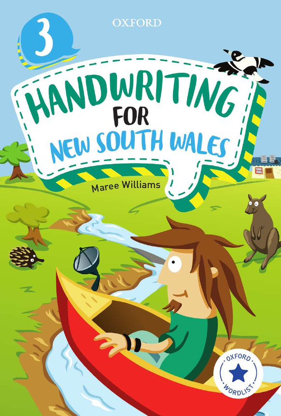 Oxford Handwriting for New South Wales Year 3 9780190312572