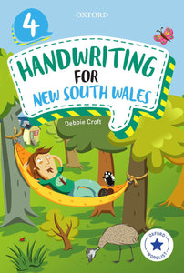 Oxford Handwriting for New South Wales Year 4 9780190312589