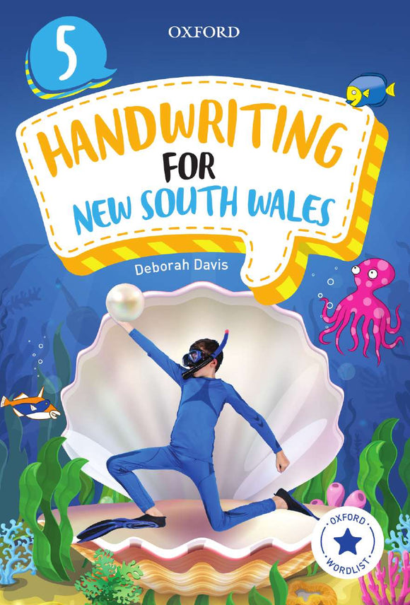 Oxford Handwriting for New South Wales Year 5 9780190312596