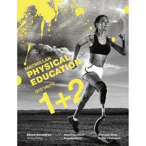 Macmillan Physical Education QCE Units 1 & 2 Student Book + Digital 9781420239782