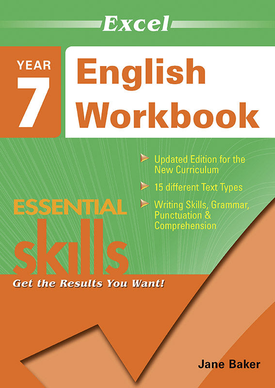 Excel Essential Skills: English Workbook Year 7 9781740200363