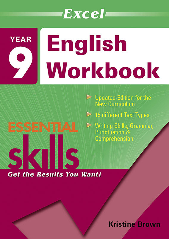 Excel Essential Skills: English Workbook Year 9 9781740200387