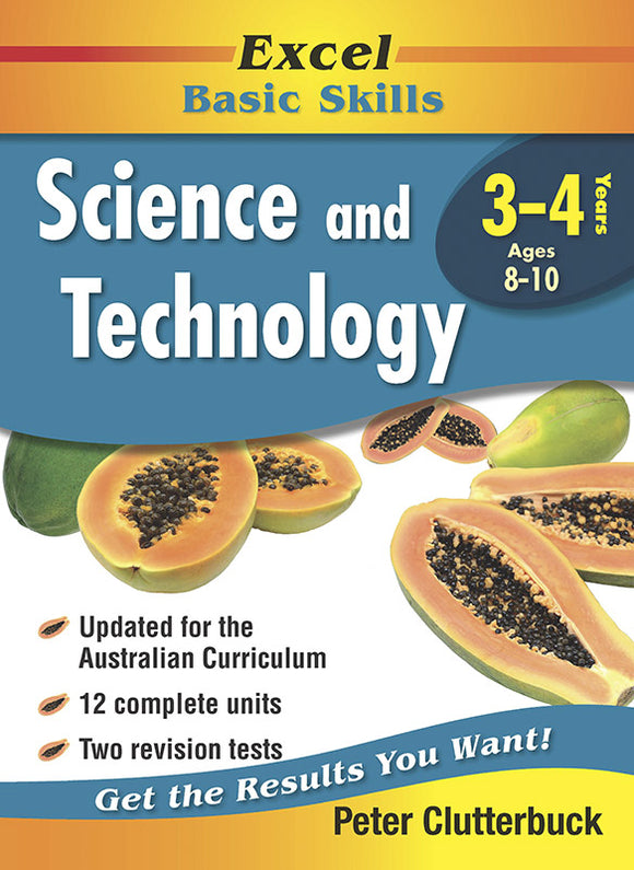 Excel Basic Skills Workbooks: Science and Technology Years 3-4 9781740200448