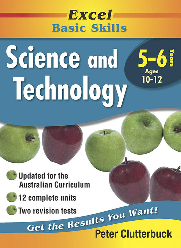 Excel Basic Skills Workbooks: Science and Technology Years 5-6 9781740200455