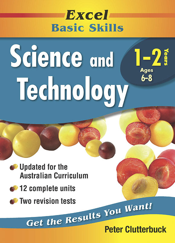 Excel Basic Skills Workbooks: Science and Technology Years 1-2 9781740200745