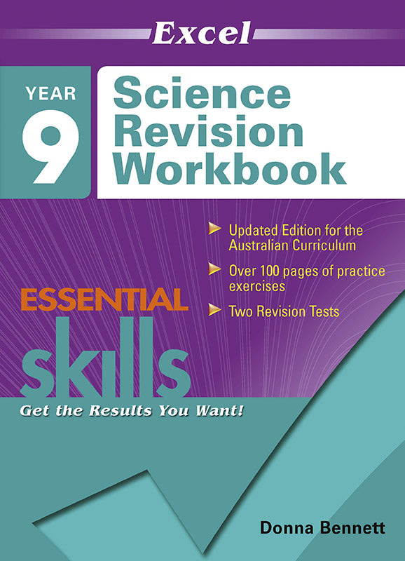 Excel Essential Skills: Science Revision Workbook Year 9 9781740200806