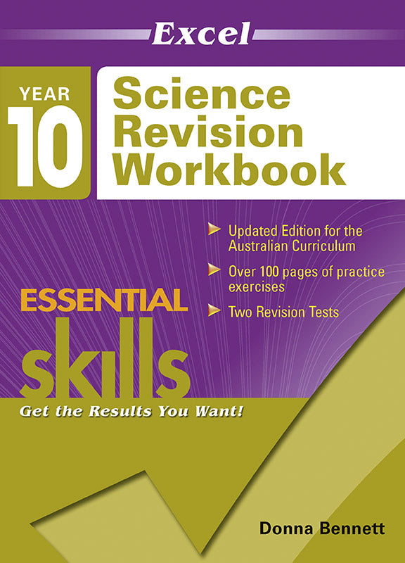 Excel Essential Skills: Science Revision Workbook Year 10 9781740200813
