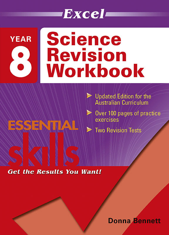 Excel Essential Skills: Science Revision Workbook Year 8 9781740200820