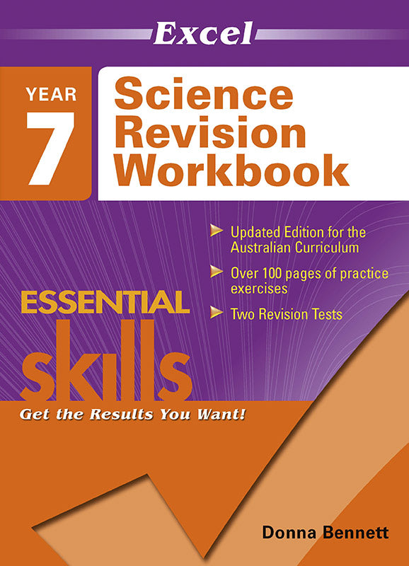 Excel Essential Skills: Science Revision Workbook Year 7 9781740200837