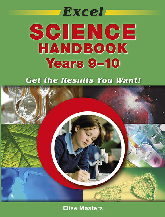 Excel Science Handbook Years 9-10 9781741250480