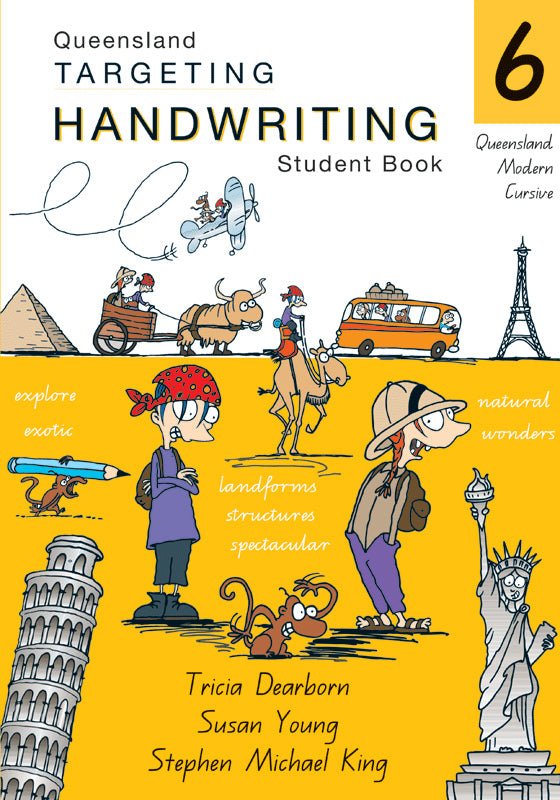 QLD Targeting Handwriting Student Book Year 6 9781741250848