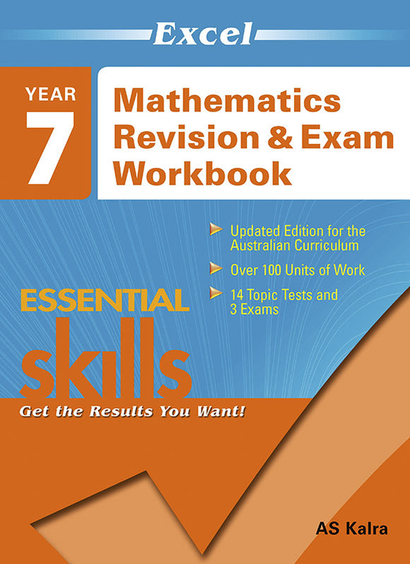 Excel Essential Skills: Mathematics Revision & Exam Workbook Year 7 9781741251517