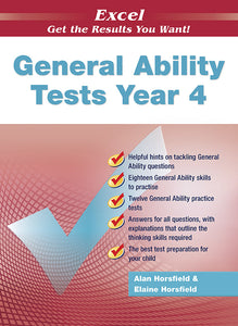 Excel General Ability Tests Year 4 9781741251692