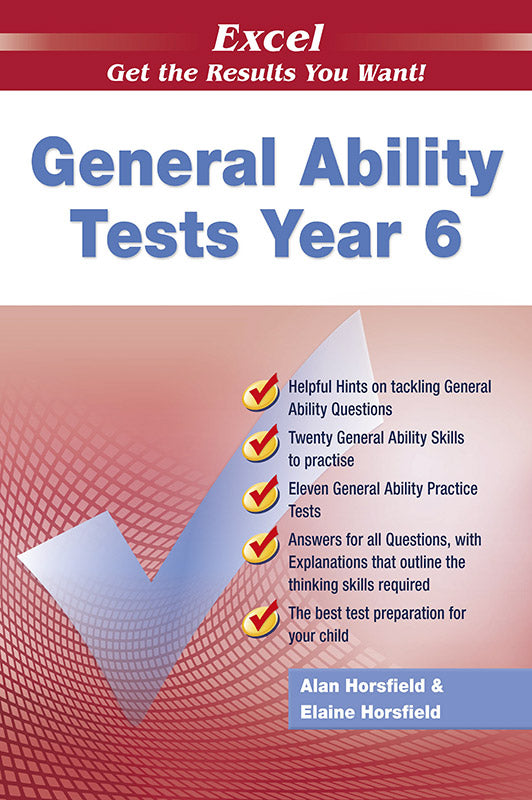 Excel General Ability Tests Year 6 9781741251715