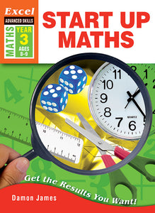 Excel Advanced Skills Workbooks: Start Up Maths Year 3 9781741252583