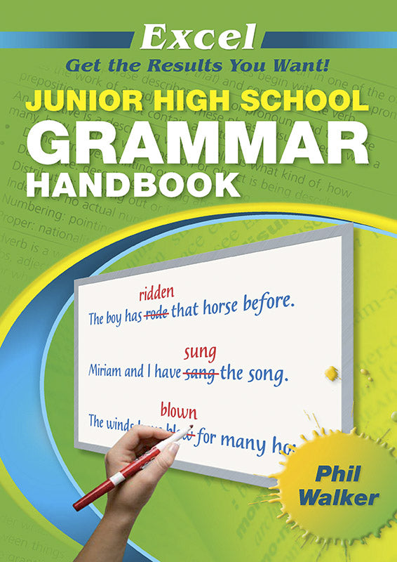 Excel Junior High School Grammar Handbook Years 7-10 9781741252590