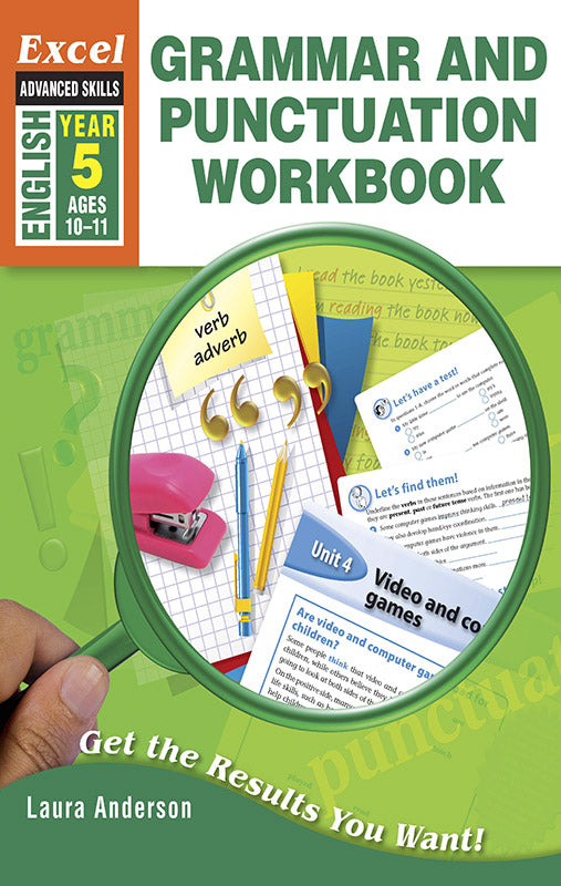 Excel Advanced Skills Workbooks: Grammar and Punctuation Workbook Year 5 9781741254013