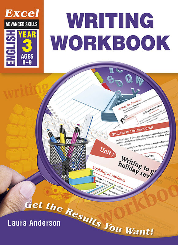 Excel Advanced Skills Workbooks: Writing Workbook Year 3 9781741254037