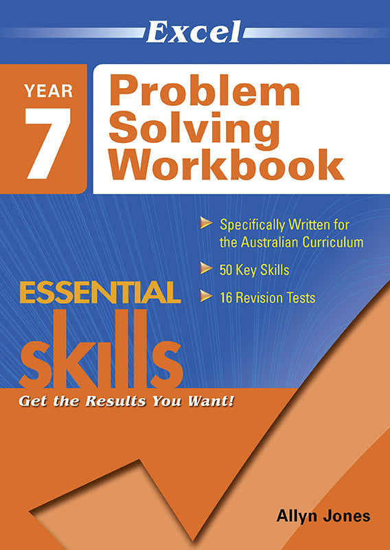 Excel Essential Skills: Problem Solving Workbook Year 7 9781741254075