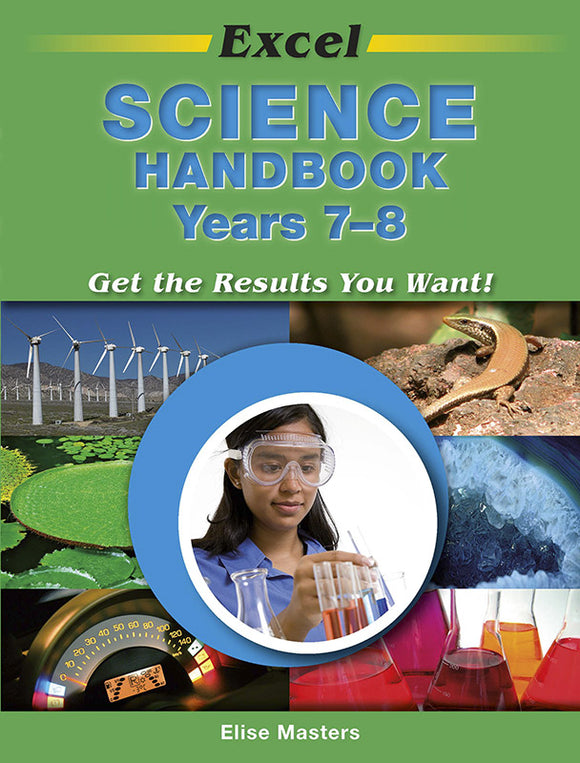 Excel Science Handbook Years 7-8 9781741254341
