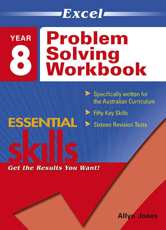 Excel Essential Skills: Problem Solving Workbook Year 8 9781741254358