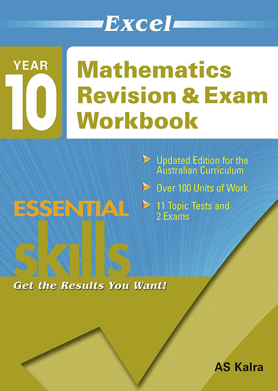 Excel Essential Skills: Mathematics Revision & Exam Workbook Year 10 9781741255669