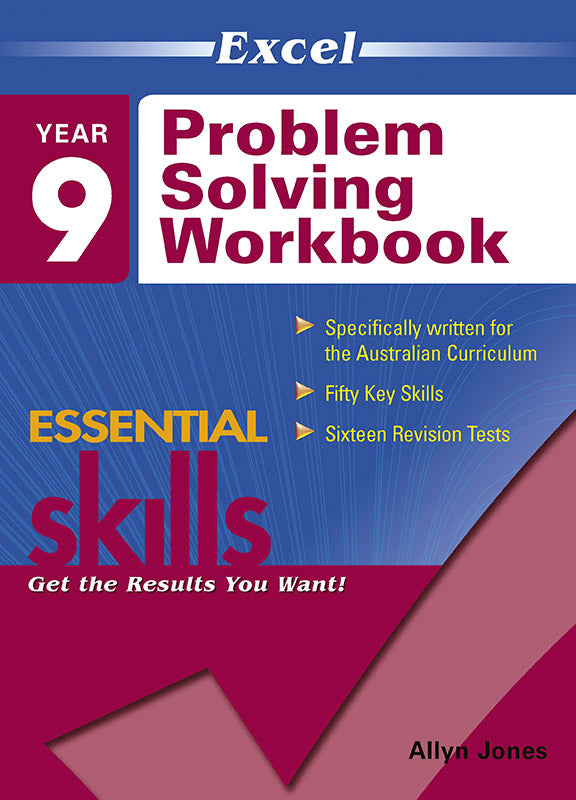 Excel Essential Skills: Problem Solving Workbook Year 9 9781741255706