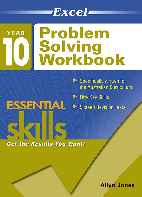 Excel Essential Skills Problem Solving Workbook Year 10 9781741255713