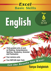 Excel Basic Skills Core Books: English Year 6 9781741256147