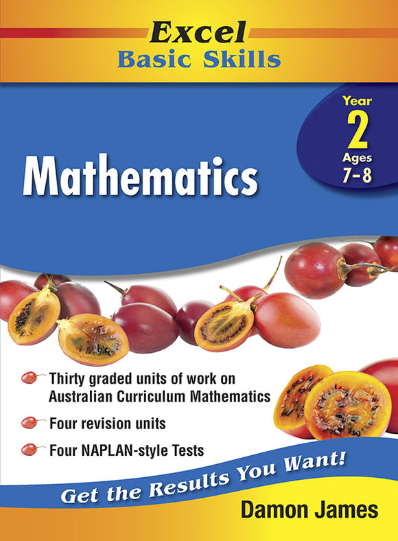 Excel Basic Skills Core Books: Mathematics Year 2 9781741256178