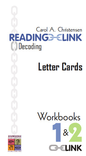 Decoding Letter Cards Workbooks 1-2 9781741620313
