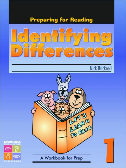 Identifying Differences: Preparing for Reading Book 1 9781741621693