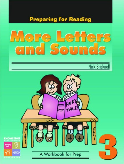 More Letters and Sounds: Preparing for Reading Book 3 9781741621716