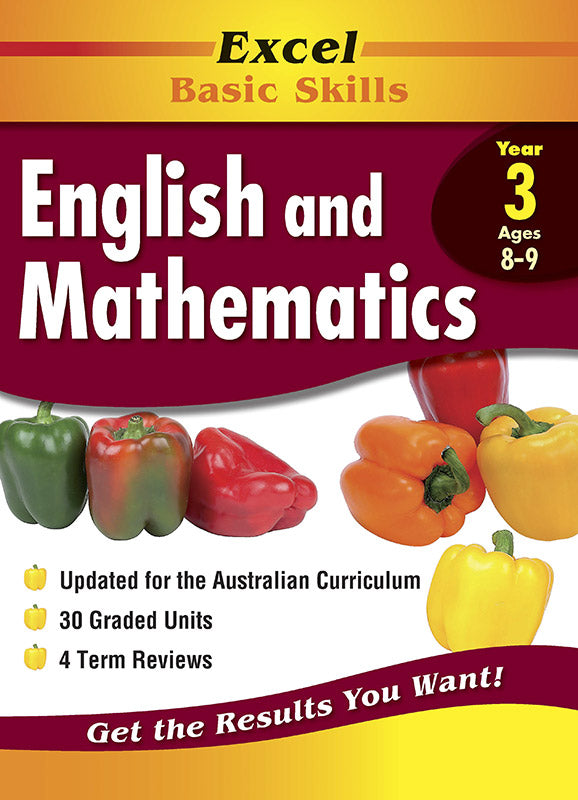 Excel Basic Skills Core Books: English and Mathematics Year 3 9781864412741
