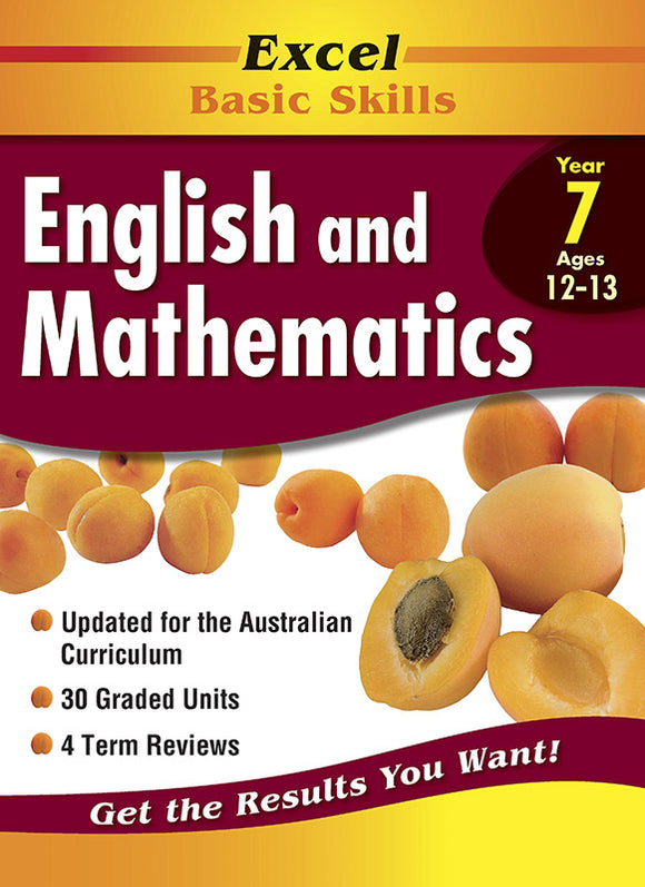 Excel Basic Skills Core Books: English and Mathematics Year 7 9781864413359