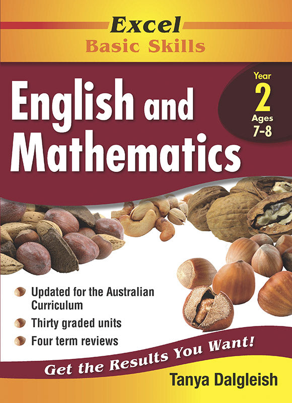 Excel Basic Skills Core Books: English and Mathematics Year 2 9781864413373