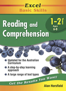 Excel Basic Skills Workbooks: Reading and Comprehension Years 1-2 9781864413403