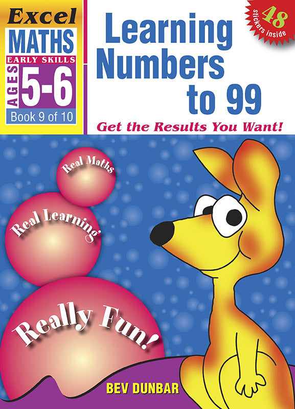 Excel Early Skills Maths Book 9: Learning Numbers to 99 Ages 5-6 9781877085963