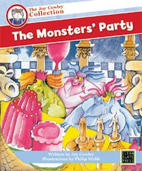 The Monsters' Party (Small Book) 9781877454615