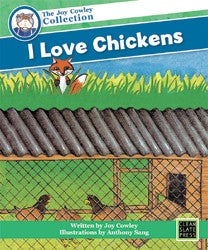 I Love Chickens (Big Book) 9781877454967
