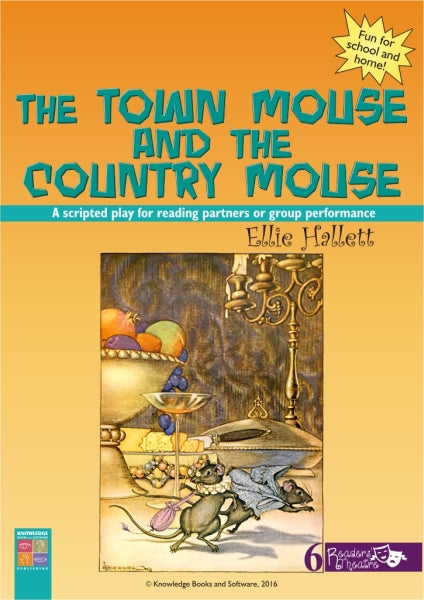 Town Mouse and the Country Mouse, The 9781925398083