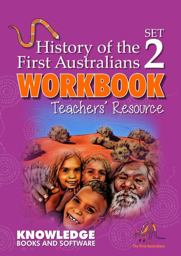 History of the First Australians Set 2 (Books 21-40) - Teacher Resource 9781925714609