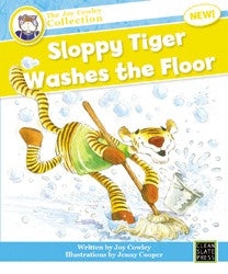 Sloppy Tiger Washes the Floor (Small Book) 9781927130186