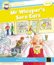 Mr Whisper's Sore Ears (Small Book) 9781927130247