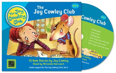 The Joy Cowley Club Set 2 Audio CD 9781927130940