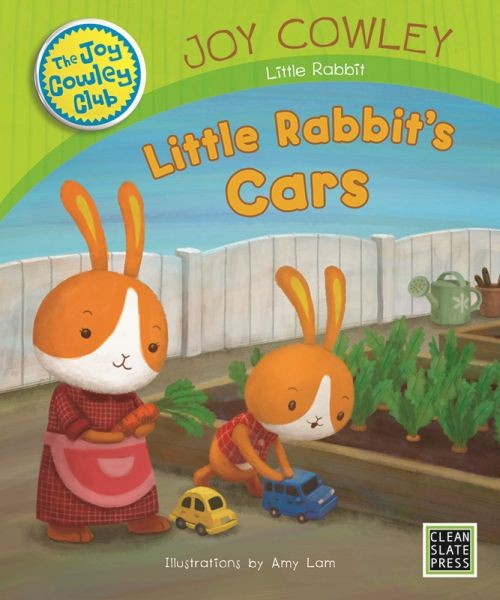 Little Rabbit's Cars (Small Book) 9781927244852